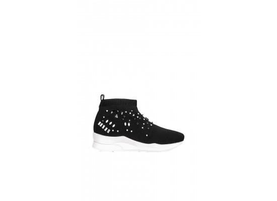 Sneakers LIU JO Karlie 15 Elastick Sock B19011 TX022 Black 22222